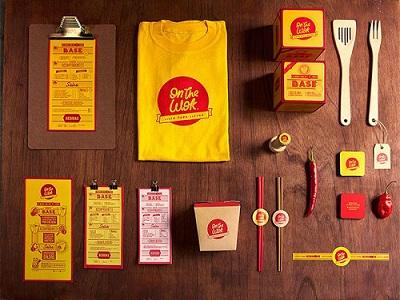 طراحی جعبه رستورانی