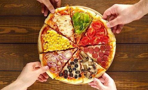 منوی پیتزا