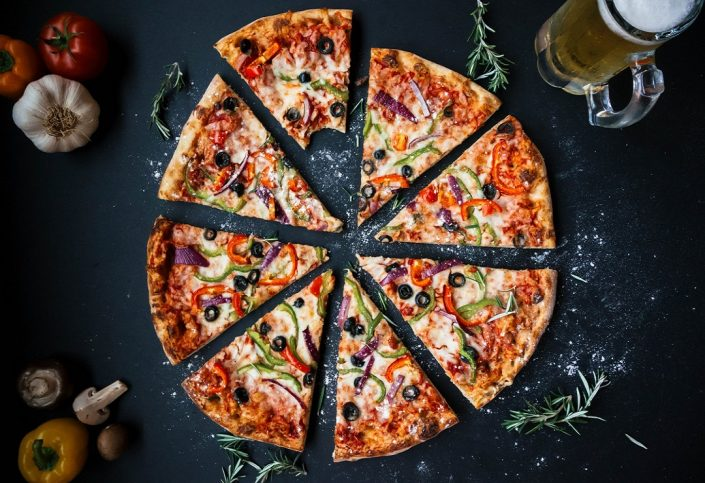 پیتزا و نکات جالب